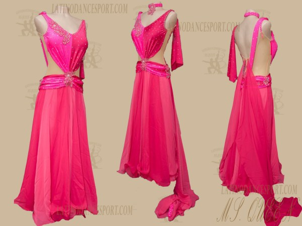 Latinodancesport.com-Ballroom Standard Smooth Dance Dress-SDS-52
