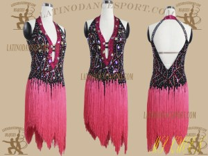 LDS-21-Ballroom Dance Costumes Latin Dress For Competition