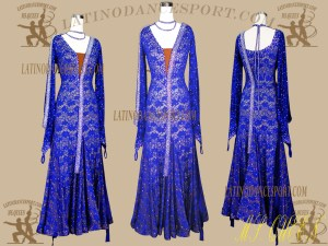 SDS-62-Ballroom Standard-Smooth Dance Dress of Latinodancesport.com