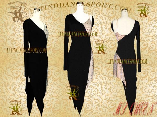 Latinodancesport Ballroom Dance LDS-02 Latin Dress Tailored