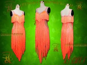 Latinodancesport Ballroom Dance LDS-09 Latin Dress Tailored
