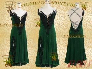 Latinodancesport Ballroom Dance LDS-36 Latin Dress Tailored