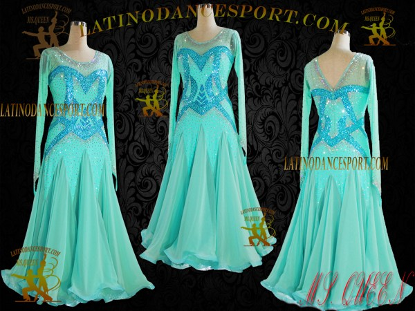 Latinodancesport Ballroom Dance SDS-64 Standard Smooth Dress tailored