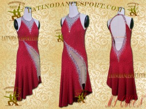 Latinodancesport Ballroom Dance LDS-102 Latin Dress Tailored