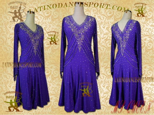 Latinodancesport Ballroom Dance LDS - 104 Latin Dress Tailored