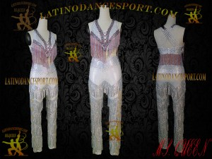 Latinodancesport Ballroom Dance LDS-Q105 Latin Jumpsuit/Catsuit Tailored