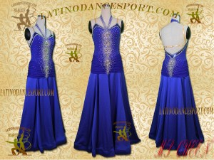 Latinodancesport Ballroom Dance SDS-06A Standard/Smooth Dress Tailored Competition