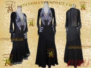 Latinodancesport Ballroom Dance SDS-68 Standard/Smooth Dress Tailored Competition