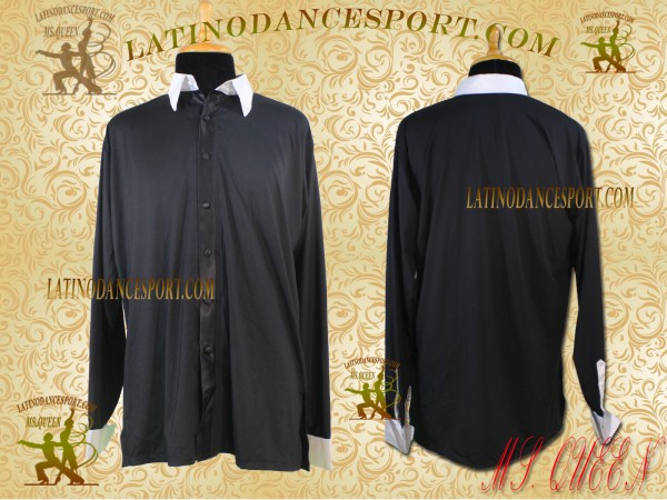 Latinodancesport Ballroom Dance Menswear Shirt Tailored MDS-12