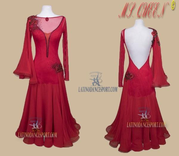 Latinodancesport Ballroom Dance SDS-78 Standard/Smooth Elegant Dress Tailored Competition
