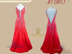 Latinodancesport Ballroom Dance SDS-85 Standard/Smooth Dress Tailored Competition