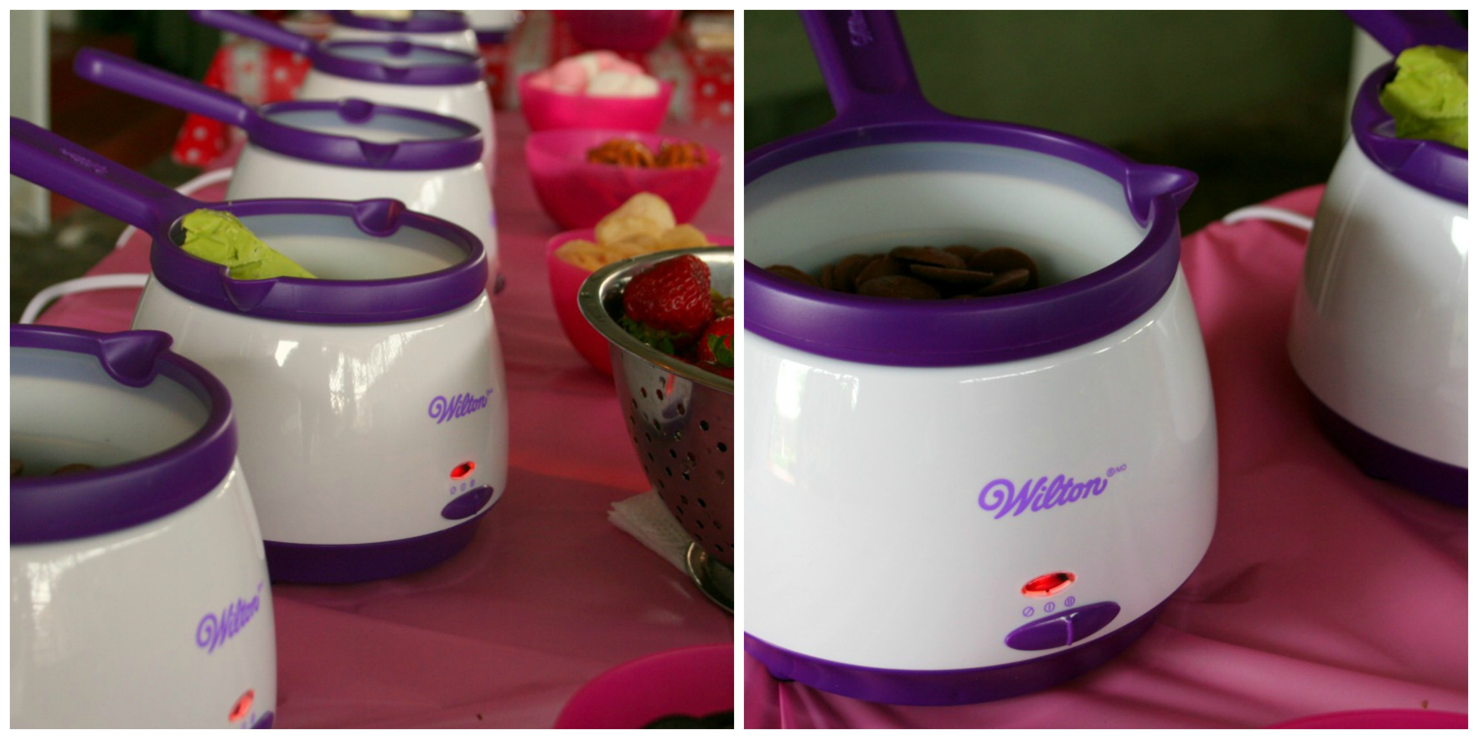 DIP & DRIZZLE WITH WILTON CANDY MELTS