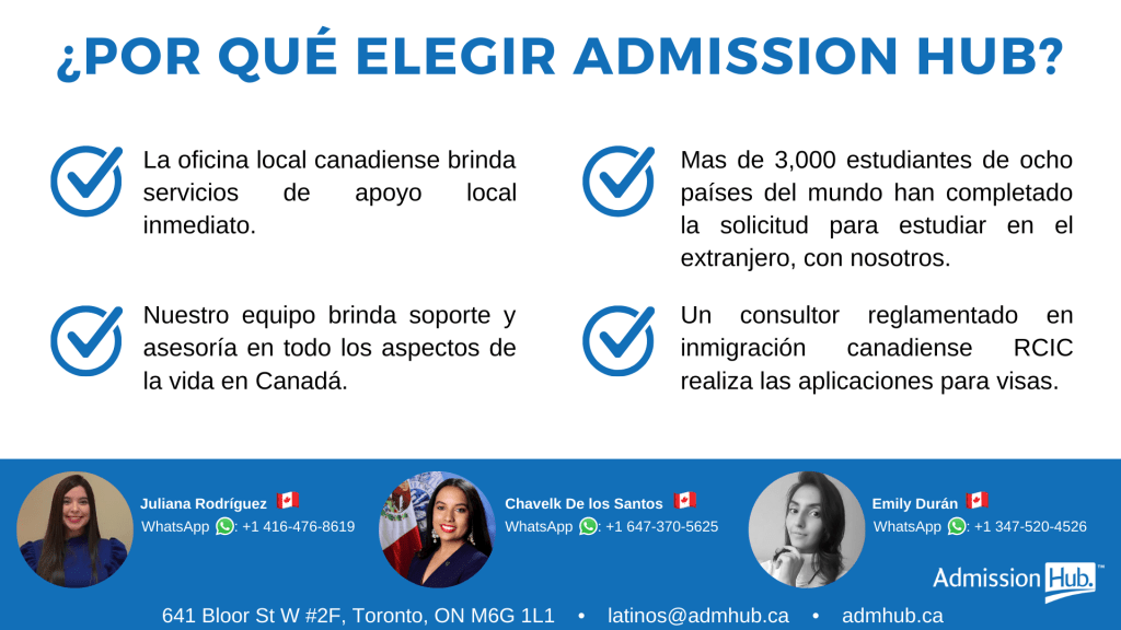 Admission Hub Latinos