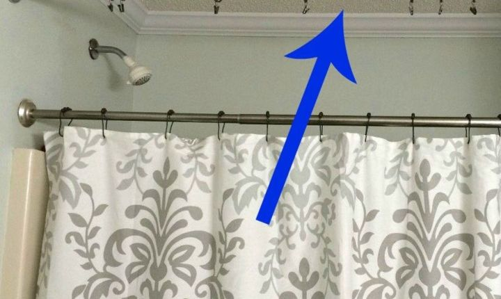 How To Adjust Spring Loaded Shower Curtain Rod | Gopelling.net