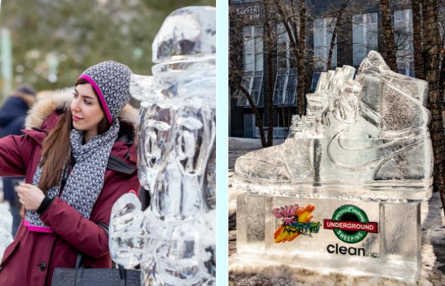 Estas maravillosas esculturas de hielo llegarán a Toronto a finales de febrero