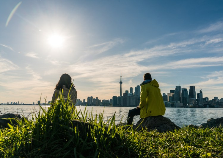 Se adelanta la primavera en Toronto