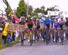 Investigarán a mujer que causó accidente en el Tour de Francia 2021