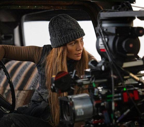 Jennifer Lopez está en Vancouver filmando su nueva película de Netflix