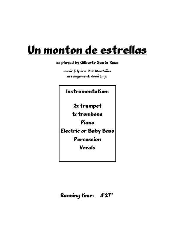 Salsa Romantica - Mega Bundle 3 • LatinScores ...