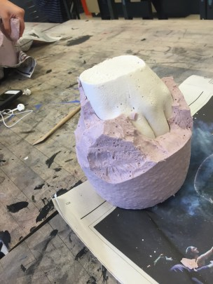 carving out hand