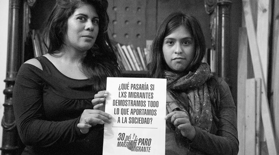 Paro de migrantes