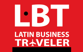 拉丁商务旅行者徽标