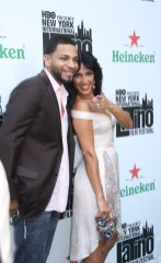 Celines Toribio with Henry Santos of Aventura