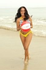 Lala Vasquez on the Beach 03