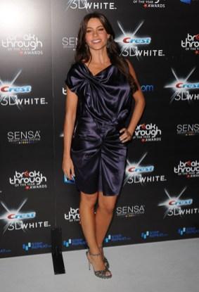 Sofia Vergara on August 15, 2010 in Los Angeles, California.