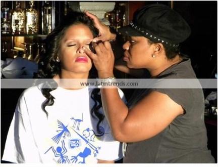 Rocsi Diaz Behind the Scenes 14