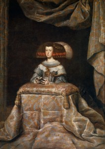Mariana de Austria_taller Velazquez