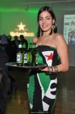 Serving Heineken (sponsor) with new bottle design