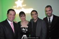 "Cast of Telemundo47's new morning show ""Buenos Días Nueva York"""