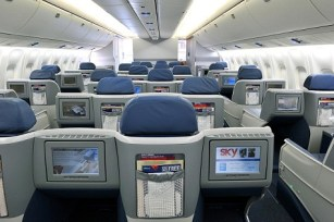767 Business Elite in-flight entertainment