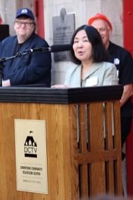 Co-Founder of DCTV Keiko Tsuno