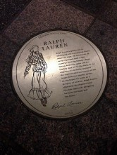 Fashion Walk of Fame