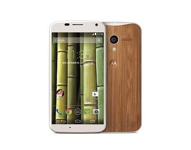 Moto X Bamboo