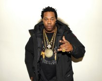 "Rapper Busta Rhymes stops by the HennessyxNas ""Never stop. Never settle."" Super Bowl event"