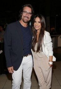Miguel Varoni and Catherine Siachoque