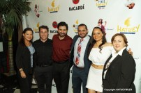 Multi-Award Winning Playwright Marco Antonio Rodriguez with Michael Stevens. Both Tea and Michael are second from the left next to Maria Morales-Prieto. the consul and playwright are centered