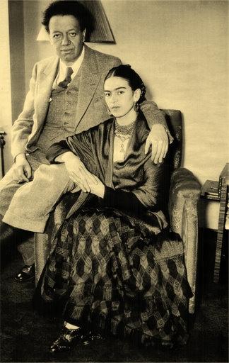 Diego Rivera y Frida Kahlo