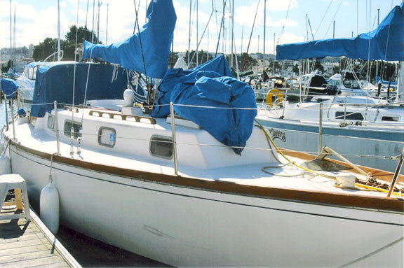 Sailed A Plenty For 11 Years From And To Eureka And Santa Barbara Throughout The Gulf Of