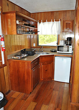 Latitude Adjustment Kitchenette