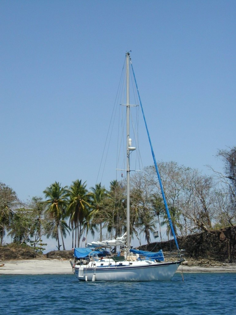 at-anchor-isla-parida One Particular Harbor Sailing