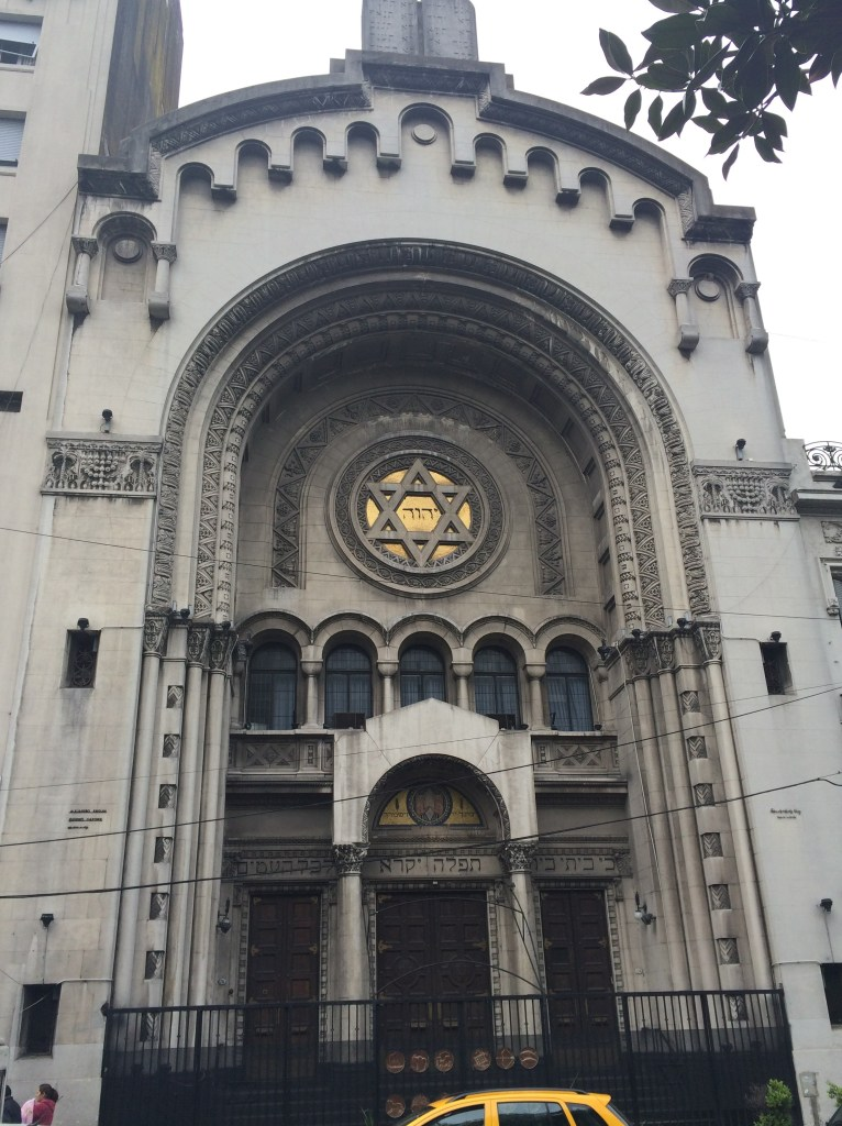 "synagogue Buenos Aires: ""Architectural Disneyland"" Argentina Buenos Aires"