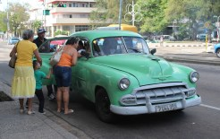 collectivo-taxi-havana So, you want to go to Cuba? Here are some pointers. Cuba