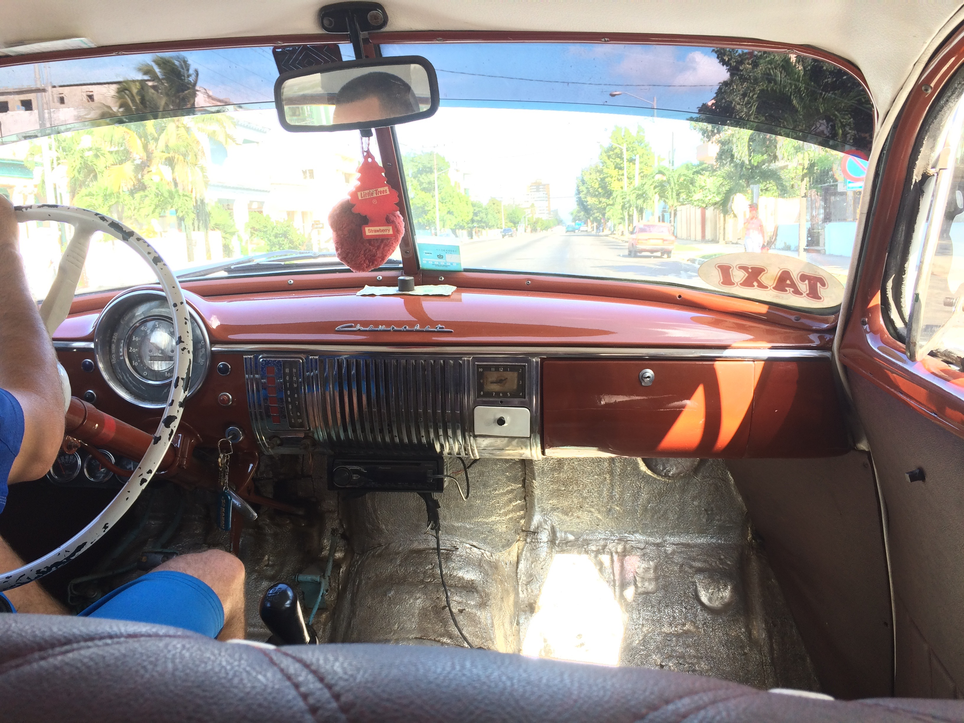 old-cuban-car-dashboard So, you want to go to Cuba? Here are some pointers. Cuba