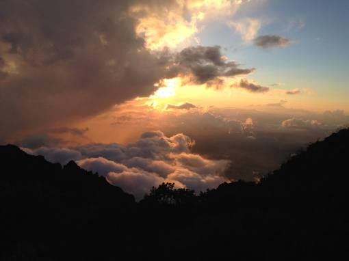sunset-1 Volcán Barú: Another tick off the bucket list! Panama The Great Outdoors