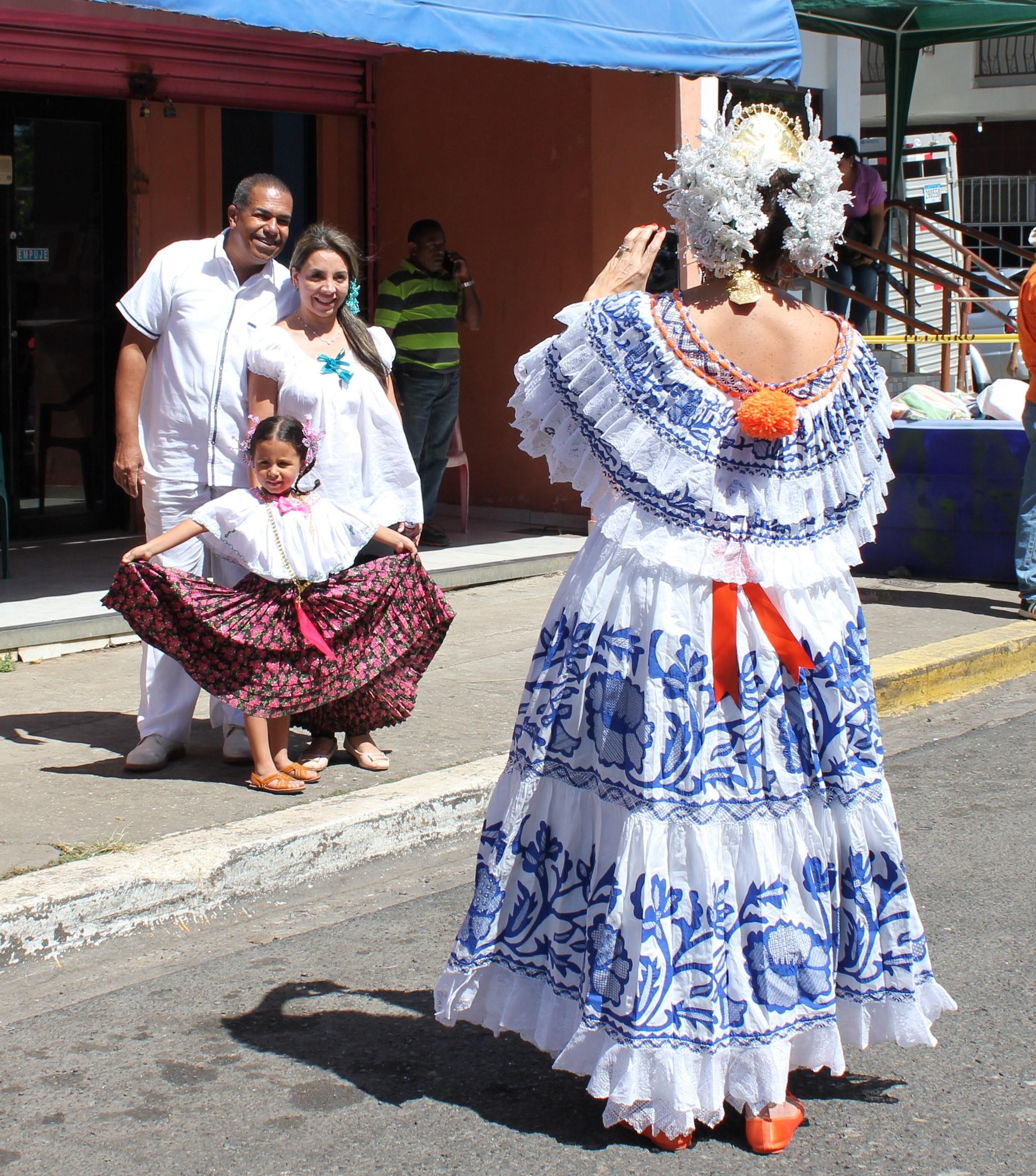 photo-op-2-pollera-parade A Panama Road Trip Panama Panama Fairs and Festivals