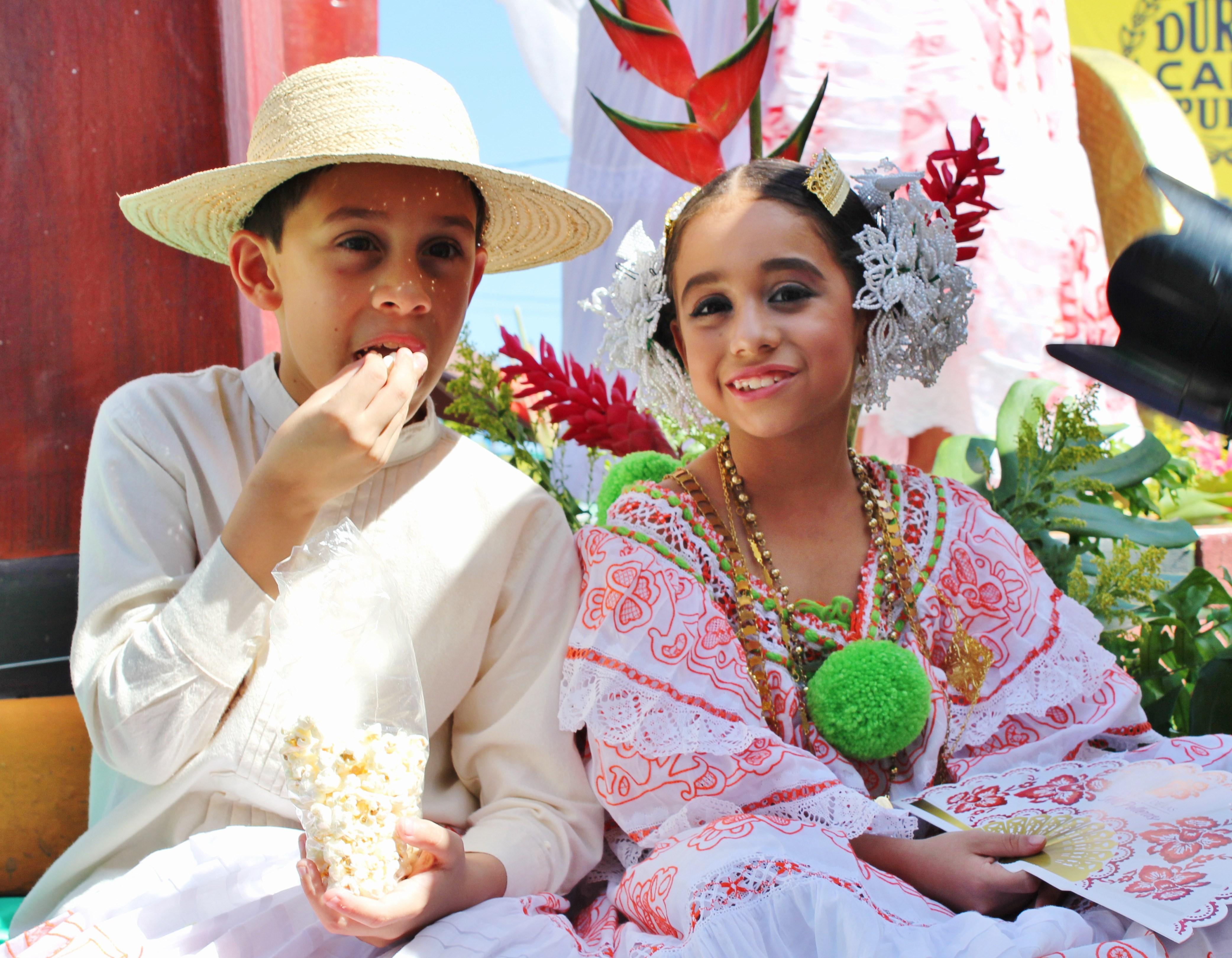 pollera-kids A Panama Road Trip Panama Panama Fairs and Festivals